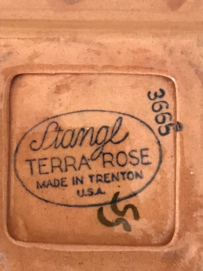 Stangl Terra Rose Ashtray Stangl Pottery  American Art Pottery