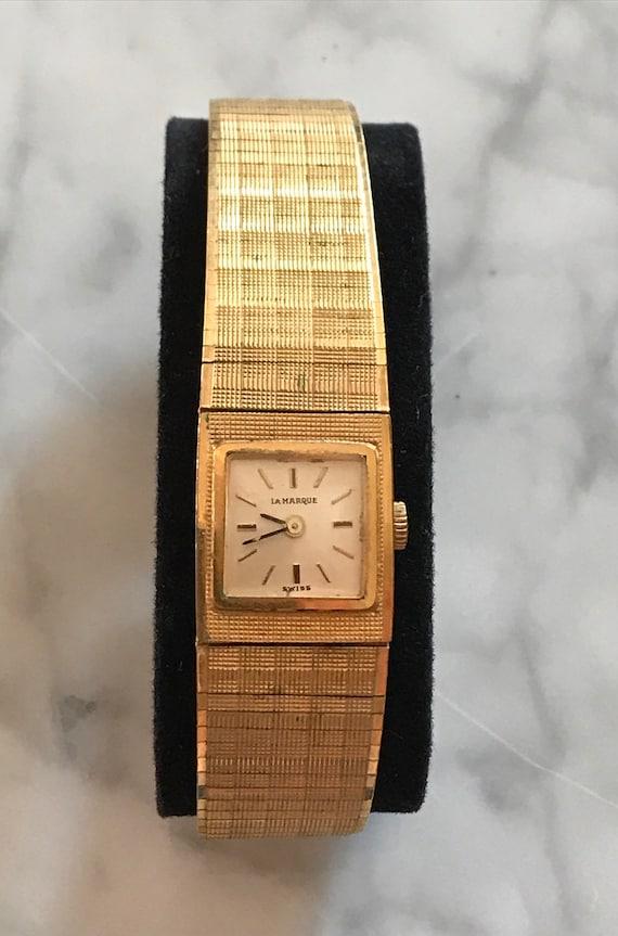 Vintage Wristwatch Ladies Wristwatch Bracelet Band