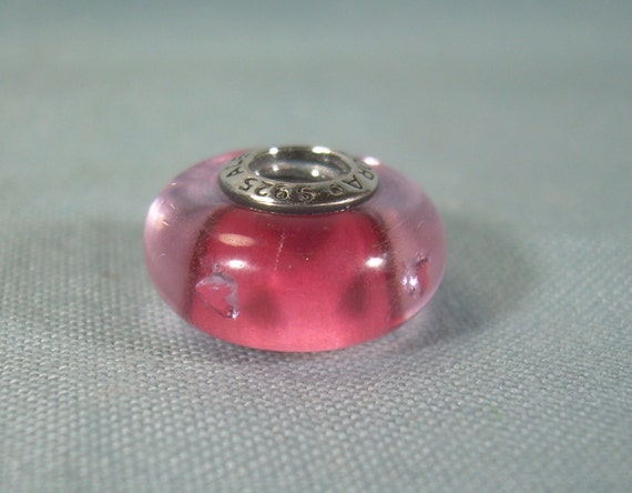 """Heart Charm Collier Goutte Dangle Tiny 6 mm bouffi pendentif en forme de cœur 16/"""" Chaîne Or 14k"""