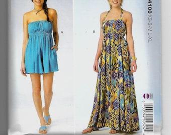 K4100 Kwik Sew Romper and Dress Sewing Pattern Sizes XS-XL Learn to Sew Pattern
