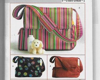 B4560 Butterick Diaper Bag Sewing Pattern