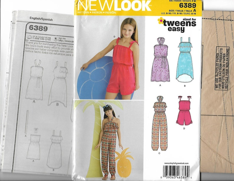 317318630cb 6389 New Look Girls  Romper Jumpsuit Short Dress and