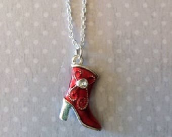 Boot - Boot Jewelry - Cowboy Boots - Cowboy Jewelry - Cowboy Necklace - Cowgirl - Cowgirl Boots - Cowgirl Jewelry - Cowgirl Necklace - Gift