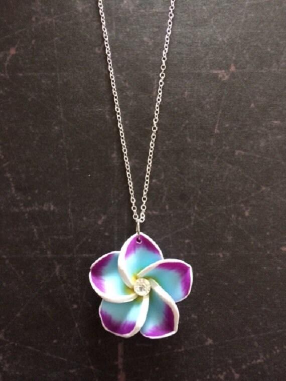 Plumeria Necklace Plumeria Jewelry Plumeria Flower Etsy