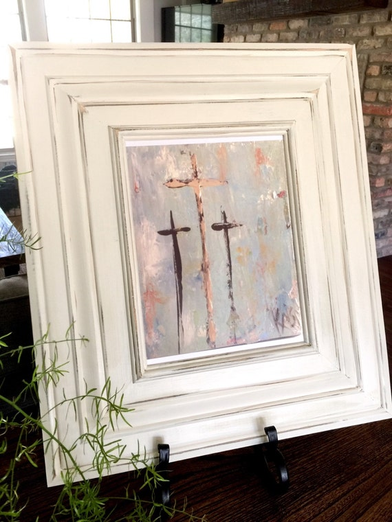 Kristi Hall original three crosses print in 8x10 custom | Etsy