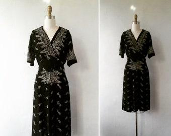 1940's dress | vintage dress | vintage 1940's dress | 1940s dress | floral 1940's dress | vintage floral dress | The May Flower's Dress
