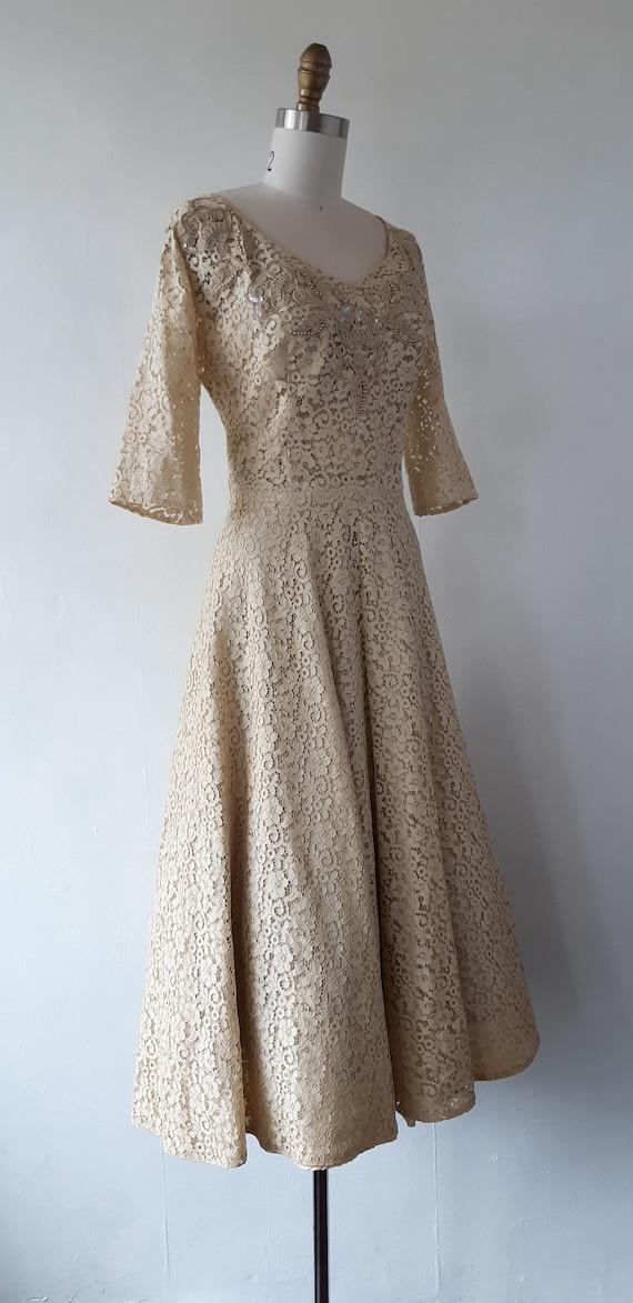50s formal dress vintage 1950s