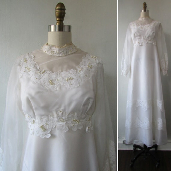 1960s wedding dress | 60s wedding dress | vintage