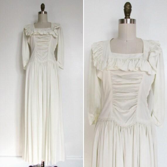 1950s wedding dress | vintage late 1940s wedding |