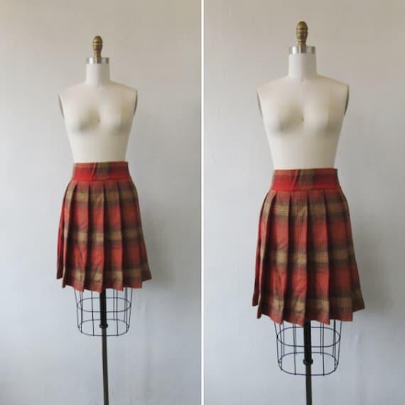 vintage wool skirt | 1960's wool skirt | wool plea
