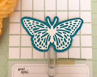 Royal Butterfly PaperClip | Planner Clip | Planner Page Marker | Planner Accessory