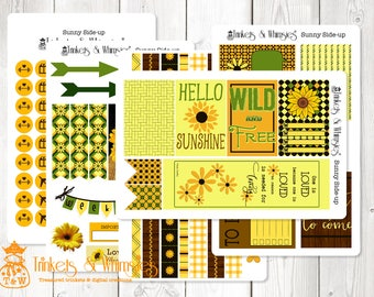 Sunny Side-Up Stickers Set for The Happy Planner