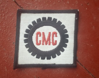 Vintage CMC Factory Worker Patch