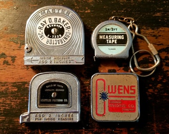 Lot of 4 Vintage Tape Measures