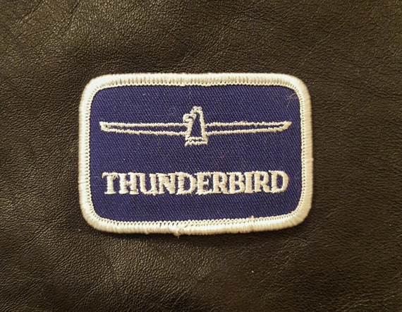 FORD BLUE AND WHITE OVAL NEW CLOTHING PATCHES
