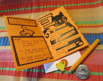How To Make Zines for Elementary Ages Students