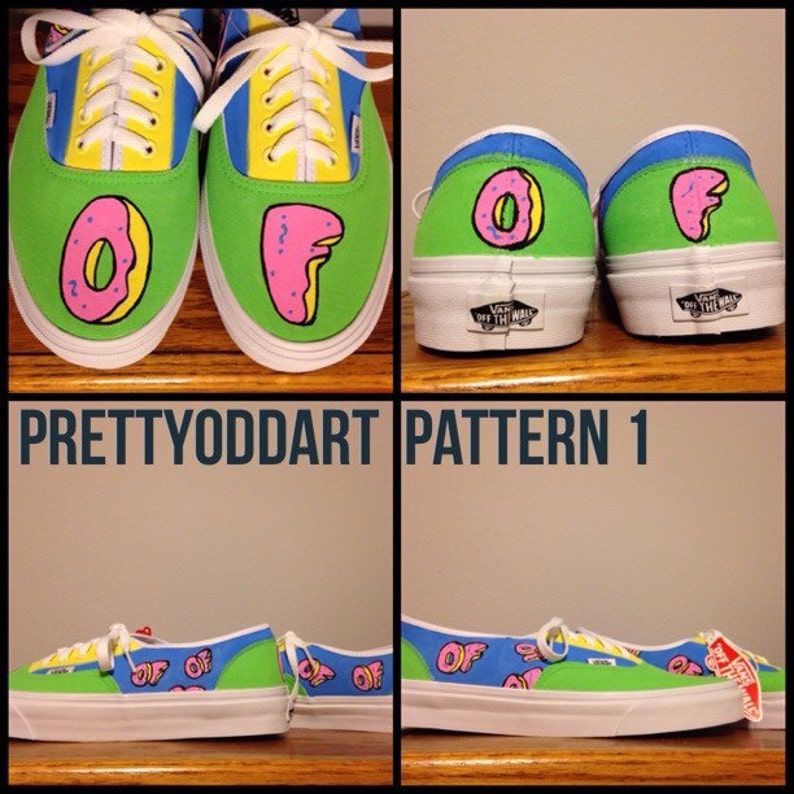a2169c22e283a Odd Future Hand Painted Shoes/Vans