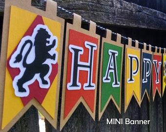 Wizarding School MINI Happy Birthday Banner