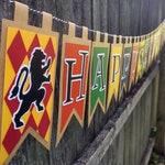 Wizarding School Happy Birthday Banner