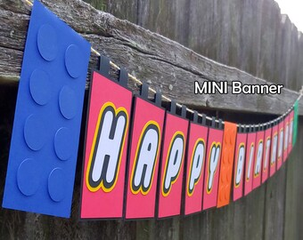 Brick and Block Happy Birthday MINIBanner