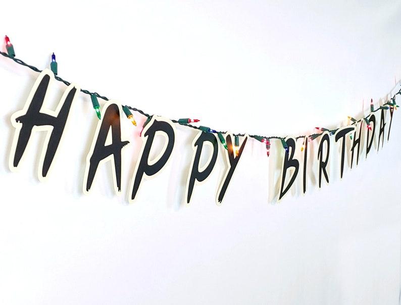 Upside Down Happy Birthday Banner image 0