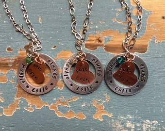 Custom Best Friend Necklace. Price shown is for one.
