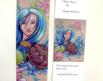 Turtle Fantasy Art Bookmark