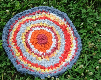Clouds at Sunset Rag-Rug