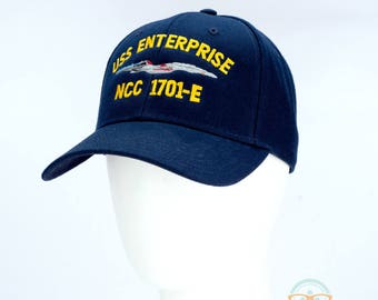 Star Trek Hat - The Next Generation TNG - USS Enterprise 1701-E -  Embroidered 38dfaee3cd8a