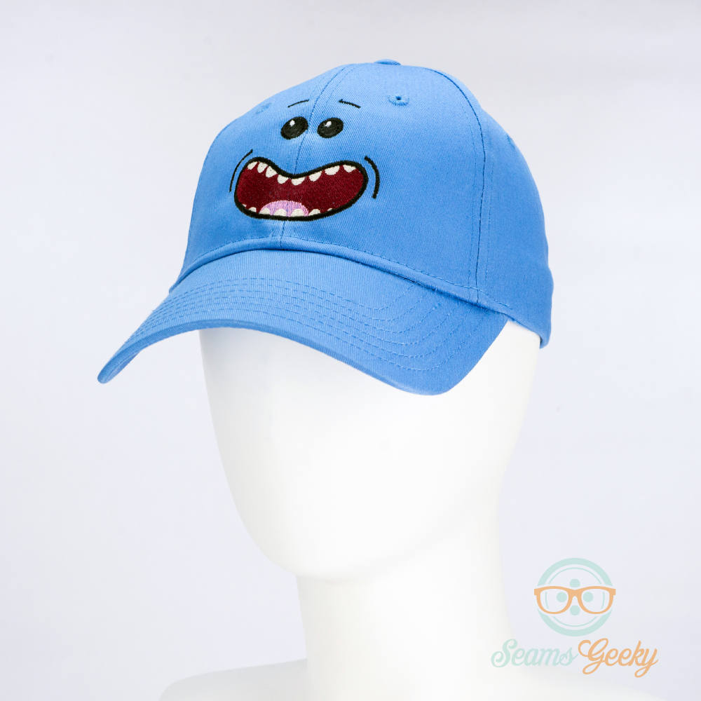 Rick and Morty Hat Mr. Meeseeks Geeky Embroidered Cartoon | Etsy