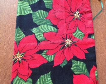 Cloth Gift Bag Christmas Theme Reusable Fabric Gift Bag Christmas Gift Giving Bag