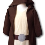 Baby / Toddler Star Wars Jedi Robe Luke Costume Set - Baby / Toddler / Kids / Teen / Adult Sizes