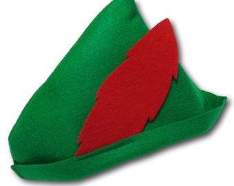 Baby / Toddler Peter Pan Felt Hat (Robin Hood)