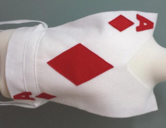 ultimo stile fashion style design unico Adulto diamanti carte da gioco Costume tunica - Scegli la tua Card (Alice  nel paese delle meraviglie) - Big Kids / adulto piccolo / Adult Large