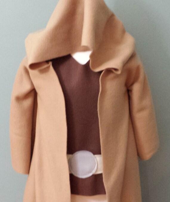 star wars jedi robe yoda kost m set kinder baby. Black Bedroom Furniture Sets. Home Design Ideas