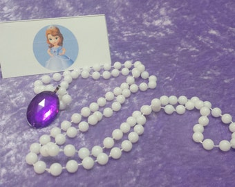 PARTY PACK Sofia the First Amulet of Avalor Necklace (Princess Sofia)