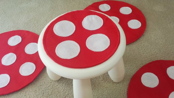 Sgabelli Ikea Mammut : Toadstool sgabello cuscino musical sedia gioco storia mat etsy