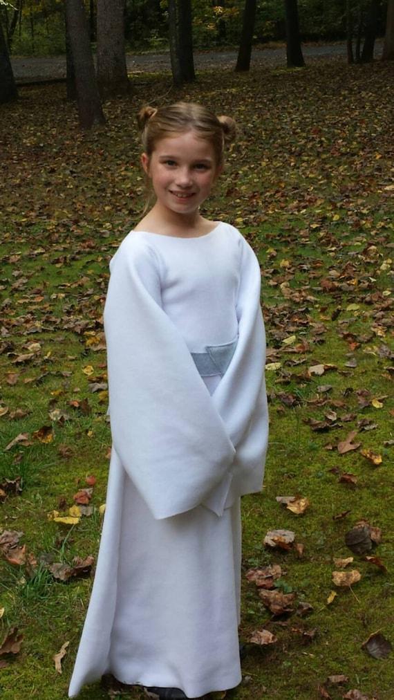 Kids Star Wars Princess Leia Costume Baby Toddler Kids Etsy