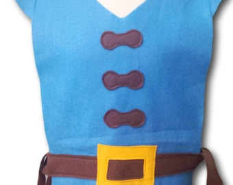 FLYNN RIDER Costume Tunic (Rapunzel / Tangled / Rapunzel Prince) - Baby / Toddler / Kids / Teen / Adult Sizes