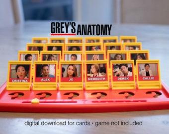 Anatomy Game Etsy