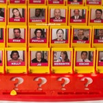 Guess Who Game Printable Files - The Office Guess Who Game