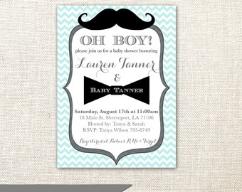 Mustache baby shower invitation etsy mustache invitation bow tie invitation baby shower invitation for a boy printable or printed filmwisefo
