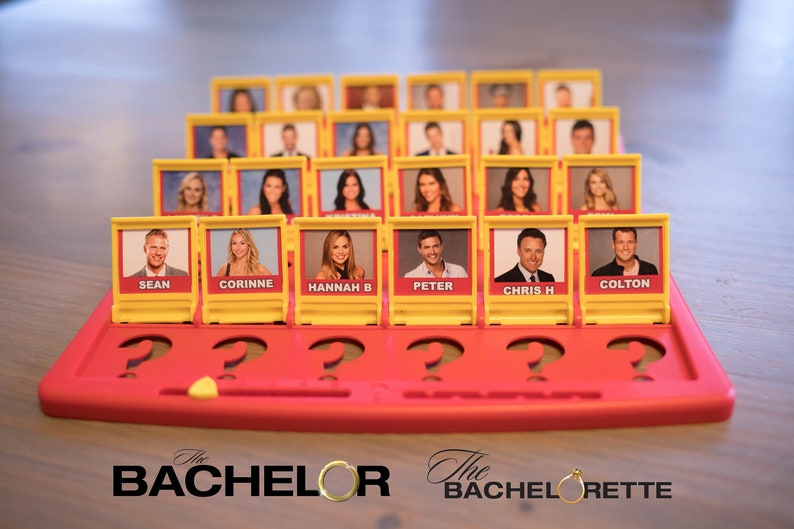 Guess Who Game Printable Files  The Bachelor / The image 0