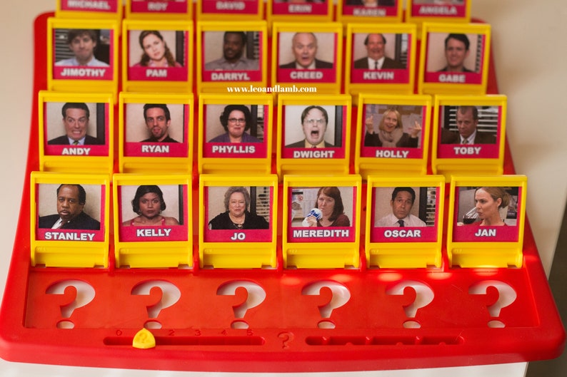 image regarding Guess Who Printable referred to as Wager Who Match Printable Information - The Office environment Wager Who Sport