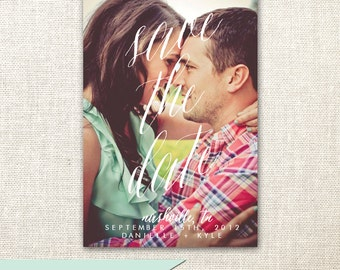 Magnet Save the Date - Personalized with your picture