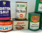 Vintage Mini 1950's Plastic Kitchen Play Food Set of 12