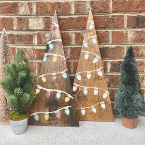 Wooden Christmas Decorations Etsy