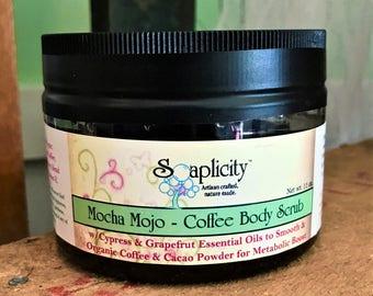 Mocha Mojo Coffee Body Scrub,  11 oz.