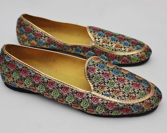 "80s Vintage ""ROYAL ORIENT"" Fancy Loafers Sz: 8M (Women's Exclusive)"