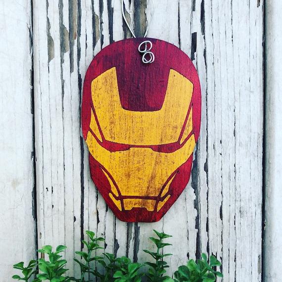 image 0 - Iron Man Christmas Ornament Christmas Tree Ornament Etsy